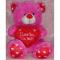 Fuschia Pink I Love You Hug Bear to Cebu City