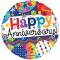 1pc. happy anniversary mylar balloon to cebu