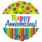 1pc beautiful anniversary mylar balloon to cebu