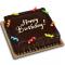 Chocolate Dedication Cake 8x8 (Junior) Delivery in Cebu