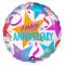 Beautiful Anniversary Mylar Balloon