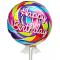 send 1pc. bappy birthday mylar balloon to cebu