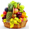 Natural Fresh Fruit Basket
